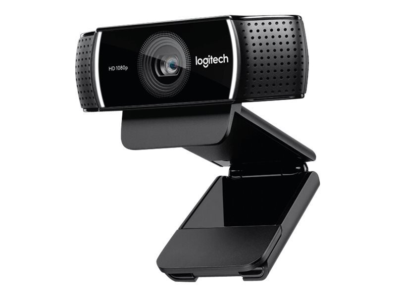 Image of   Logitech C922 Pro - Usb Webcam Med Tripod - Fuld Hd - Sort