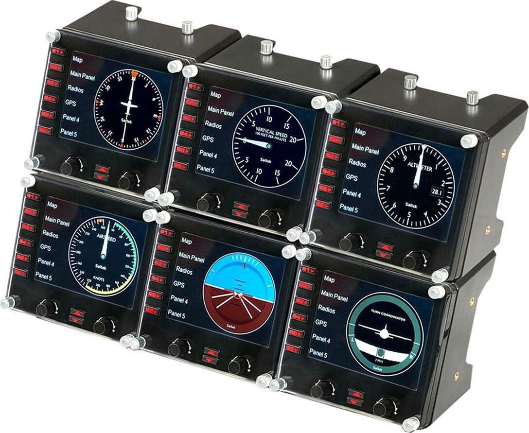 Logitech - G Saitek Pro Flight Instrument Panel Til Pc
