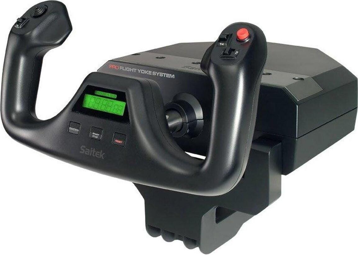 Logitech - G Saitek Pro Flight Yoke System Til Mac Og Pc
