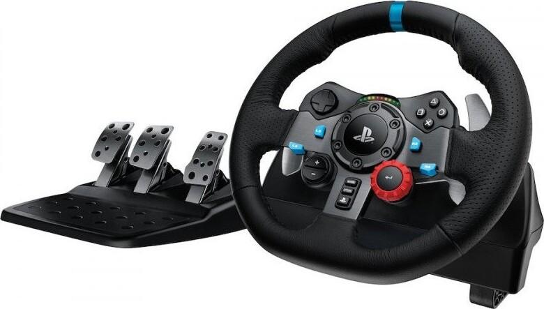 Image of   Logitech G29 Driving Force Rat Og Pedaler Til Ps3 / Ps4