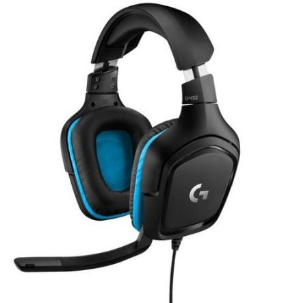 Image of   Logitech G432 Gaming Headset Med 7.1 Surround