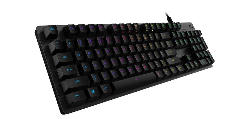 Image of   Logitech G512 Carbon - Mekanisk Gaming Tastatur Med Rgb Lys - Nordisk Layout