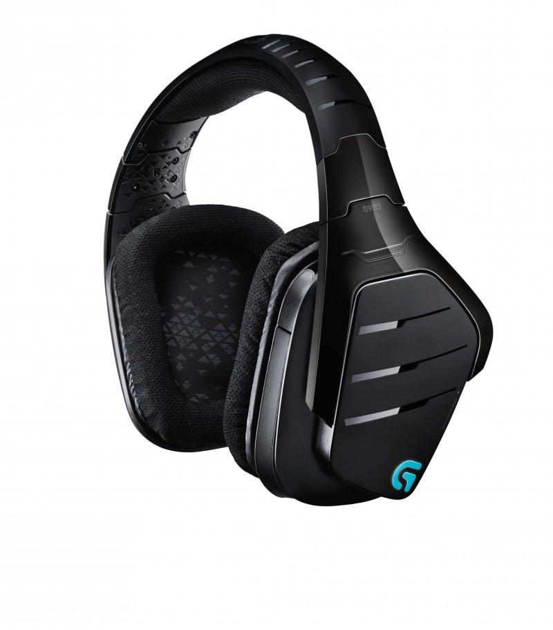 Image of   Logitech G933 Artemis Spectrum - Trådløs Gaming Hovedtelefoner Med 7.1 Surround - Sort