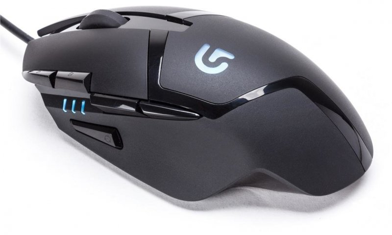 Image of   Logitech G402 Hyperion Fury - Usb Gaming Mus Med Kabel - Sort