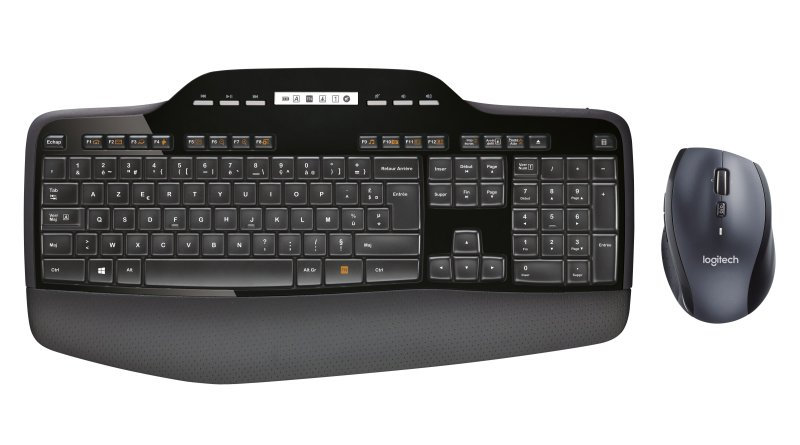 Image of   Logitech Mk710 Wireless Desktop Tastatur Og Mus Sæt