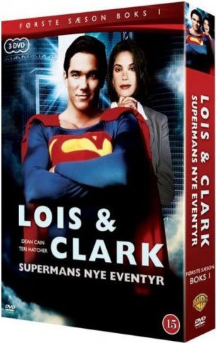 Image of   Lois And Clark - Sæson 1 - Vol. 1 - DVD - Tv-serie