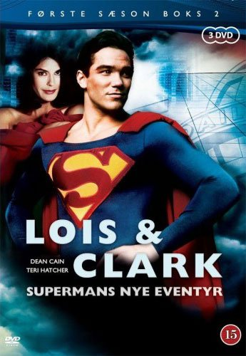 Image of   Lois And Clark - Sæson 1 - Vol. 2 - DVD - Tv-serie