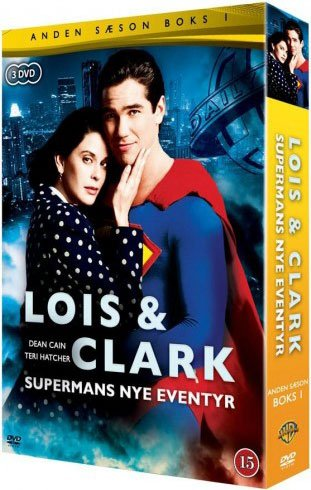 Image of   Lois And Clark - Sæson 2 - Volume 1 - Box Set - DVD - Tv-serie