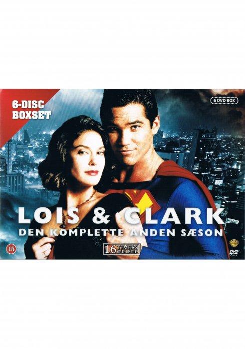 Image of   Lois Og Clark - Sæson 2 - DVD - Tv-serie
