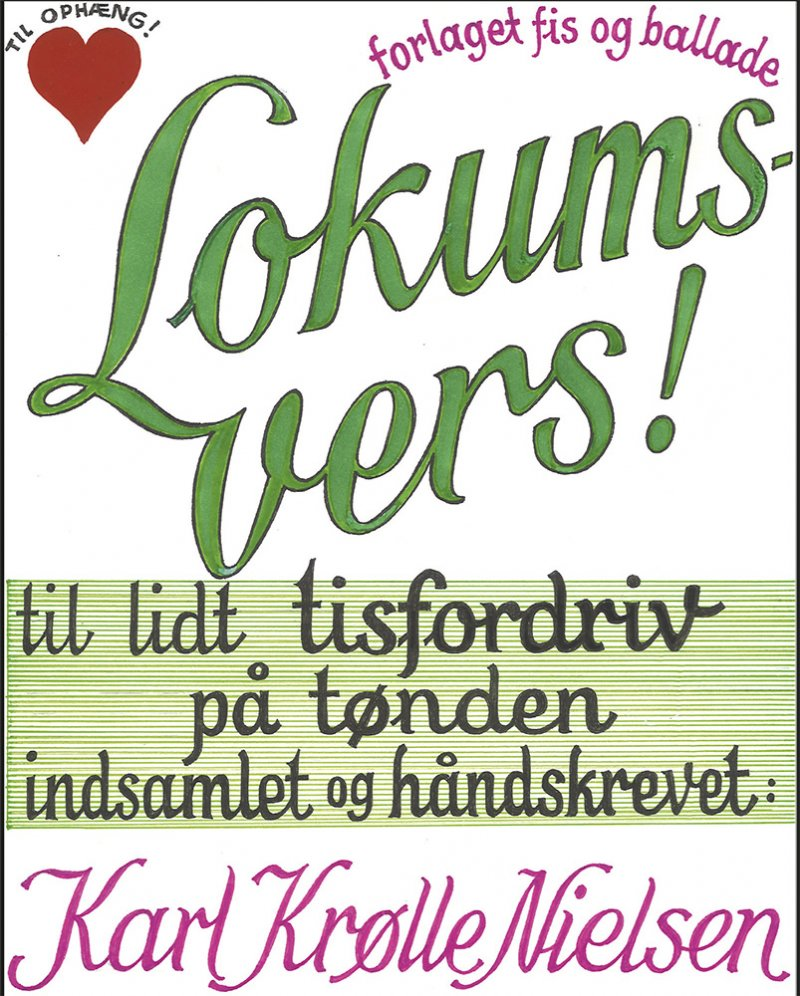 Image of   Lokumsvers - Karl Krølle Nielsen - Bog