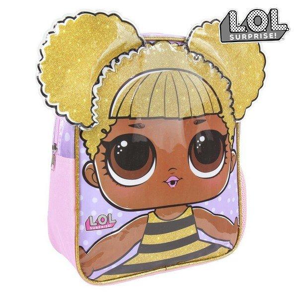 L.o.l. Surprise 3d Taske Til Børn Pink → Køb billigt