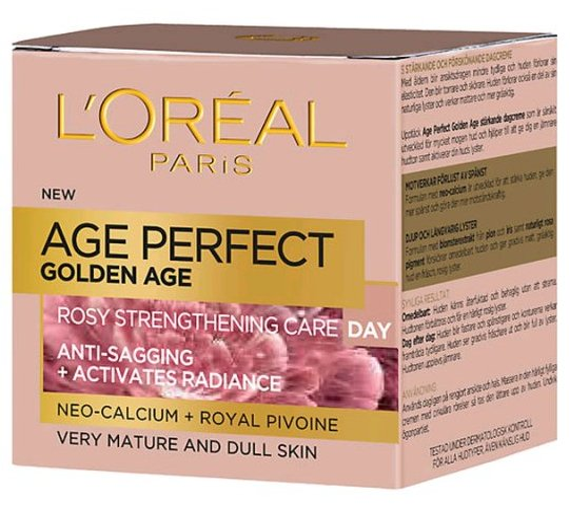 Loréal - Age Perfect Golden Age Day Cream - 50 Ml.