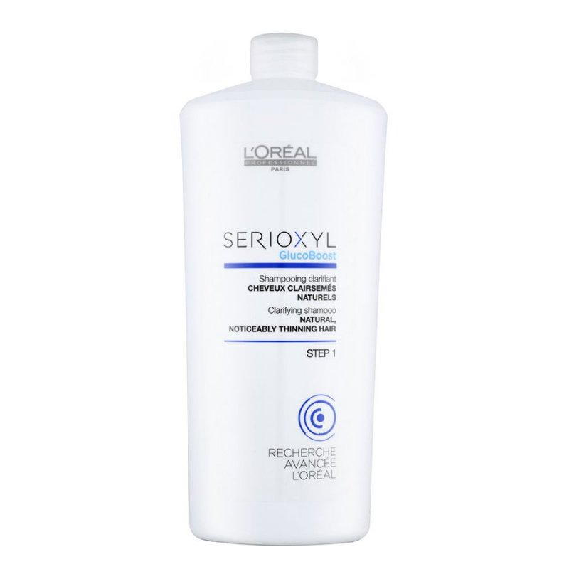 Image of   Loreal Serioxyl Glucoboost Clarifying Shampoo - 1000 Ml