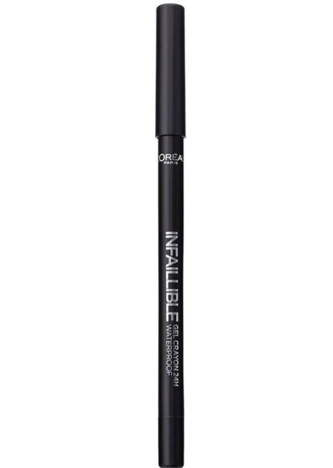 Loreal Infallible Eyeliner Gel - 01 Back To Black
