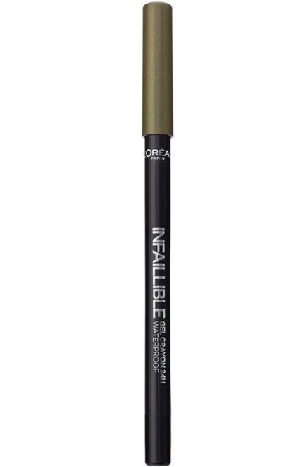 Loreal Infallible Eyeliner Gel - 08 Rest In Kaki