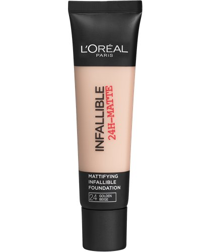 Image of   Loreal Infallible 24hr Matte Foundation - 24 Golden Rose