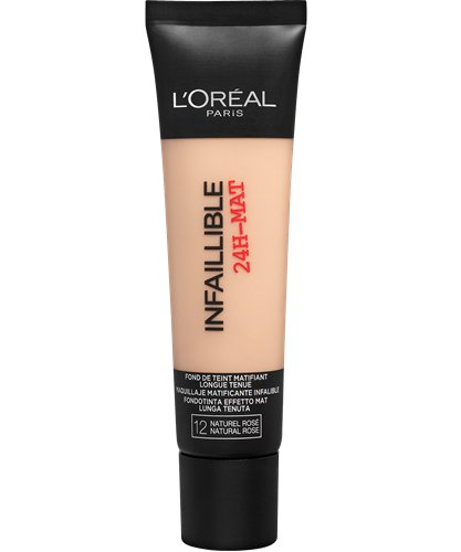 Image of   Loreal Infallible 24hr Matte Foundation - 12 Natural Rose