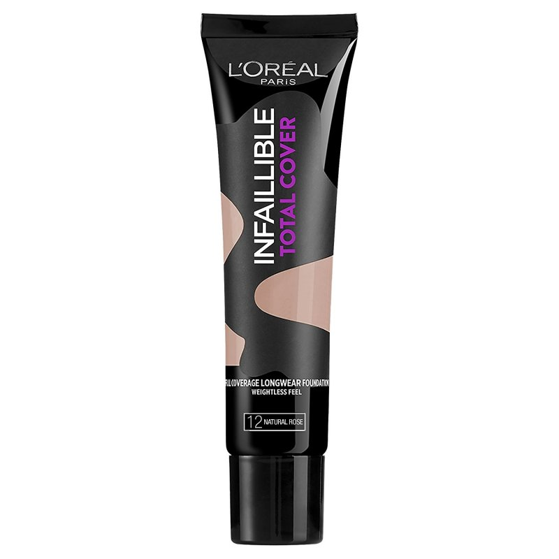 Loreal Infallible Total Cover Foundation - Natural Rose