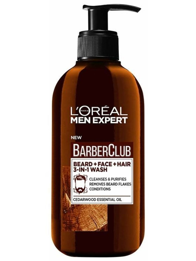 Loréal - Men Expert Barber Club Beard And Face Wash 200 Ml