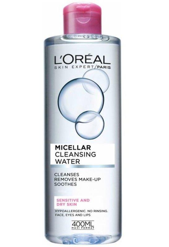 Image of   Loréal Ansigtsrens - Micellar Water Dry Skin 400 Ml