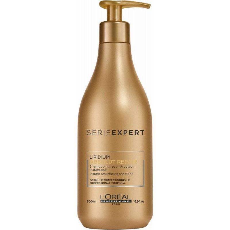 Image of   Loréal Professionnel Shampoo - Serie Expert - Absolut Repair Lipidium 500 Ml
