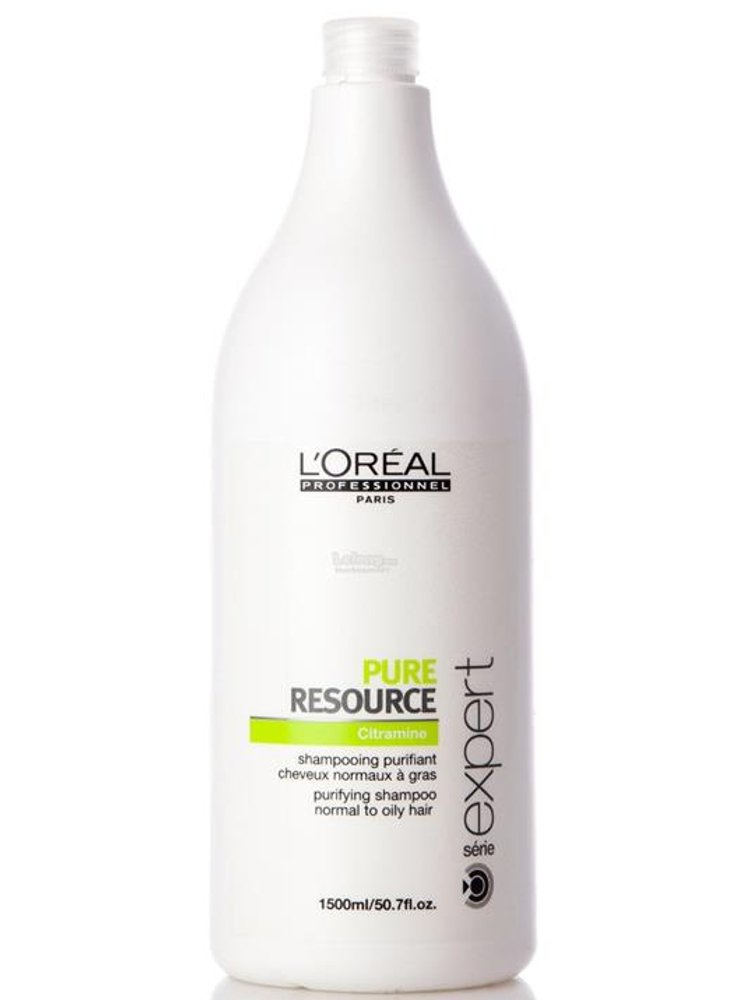 Image of   Loréal Professionnel Serie Expert - Pure Resource Shampoo 1500 Ml.