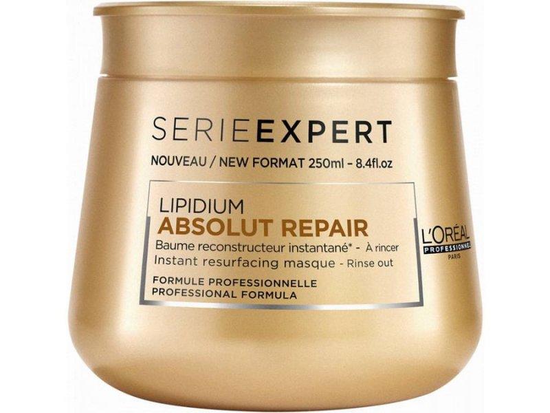 Image of   Loréal Professionnel Hårkur - Series Expert Lipidium Absolut Repair 250 Ml
