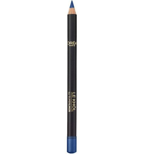 Loreal Paris Superliner Le Khol Eyeliner - 107 Deep See Blue