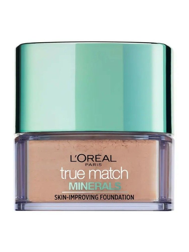 Image of   Loreal Paris True Match Minerals Powder Foundation Spf 19 - 1w Ivoire Dore