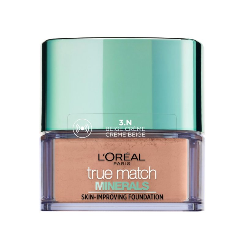 Image of   Loreal Paris True Match Minerals Powder Foundation Spf 19 - 3n Beige Creme