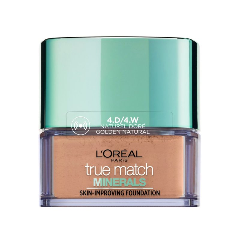 Image of   Loreal Paris True Match Minerals Powder Foundation Spf 19 - 4w Naturel Dore