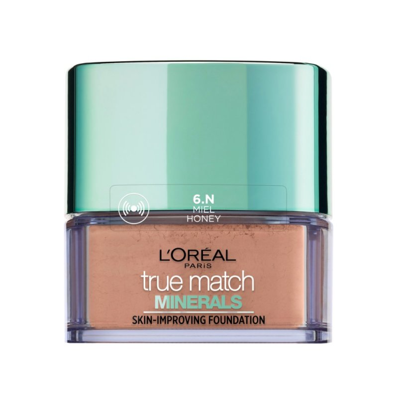Image of   Loreal Paris True Match Minerals Powder Foundation Spf 19 - 6n Miel