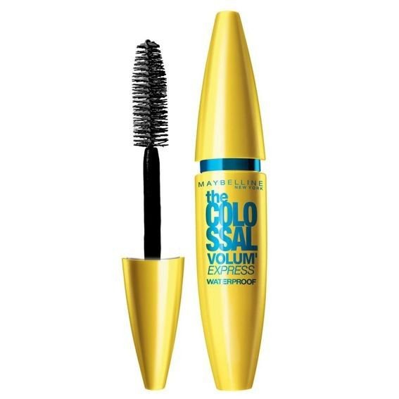 Maybelline Mascara Volum Express Colossal Waterproof - Glam Black
