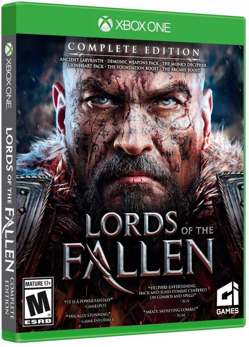 Image of   Lords Of The Fallen - Complete Edition - Xbox One