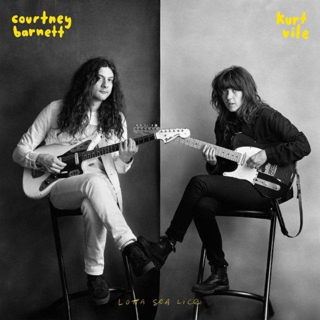 Courtney Barnett & Kurt Vile - Lotta Sea Lice - CD