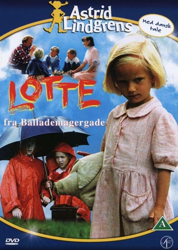 Billede af Lotte Fra Ballademagergade / Lotta På Bråkmakargatan - DVD - Film