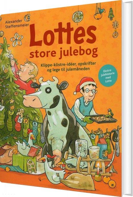 Image of   Lottes Store Julebog - Alexander Steffensmeier - Bog