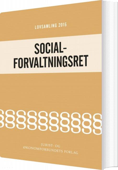 Image of   Lovsamling 2015 Socialforvaltningsret - Bog