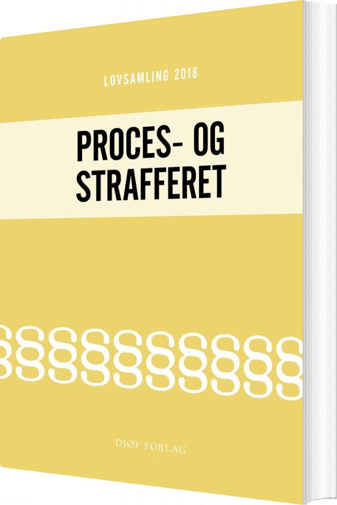 Image of   Lovsamling 2018 - Proces- Og Strafferet - Jens Møller - Bog