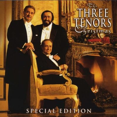 Image of   Luciano Pavarotti & Jose Carreras/placido Domingo - The Three Tenors Christmas Concert - CD