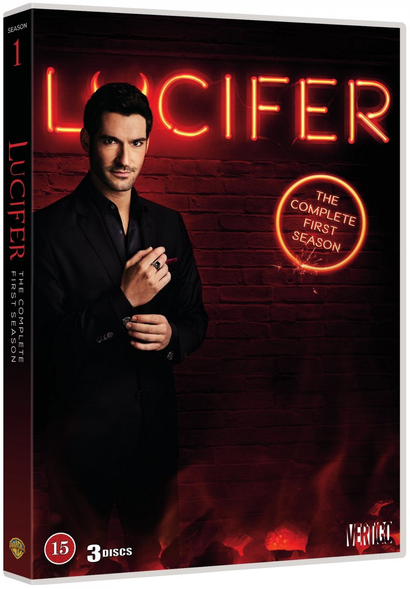 Image of   Lucifer - Sæson 1 - DVD - Tv-serie