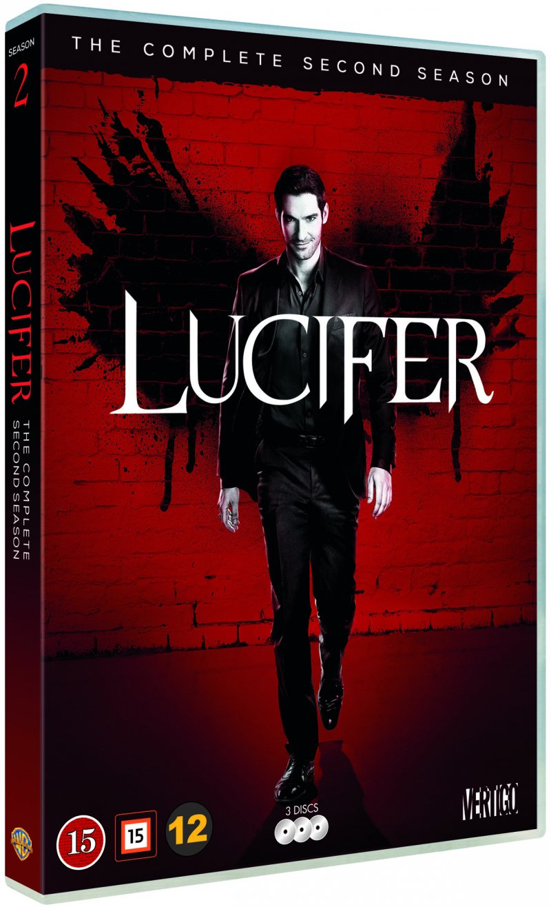 Image of   Lucifer - Sæson 2 - DVD - Tv-serie