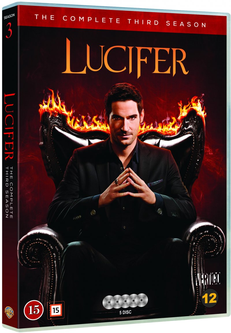 Image of   Lucifer - Sæson 3 - DVD - Tv-serie