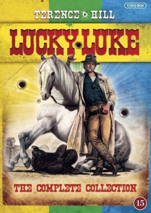Billede af Lucky Luke Film - Den Komplette Samling - DVD - Film