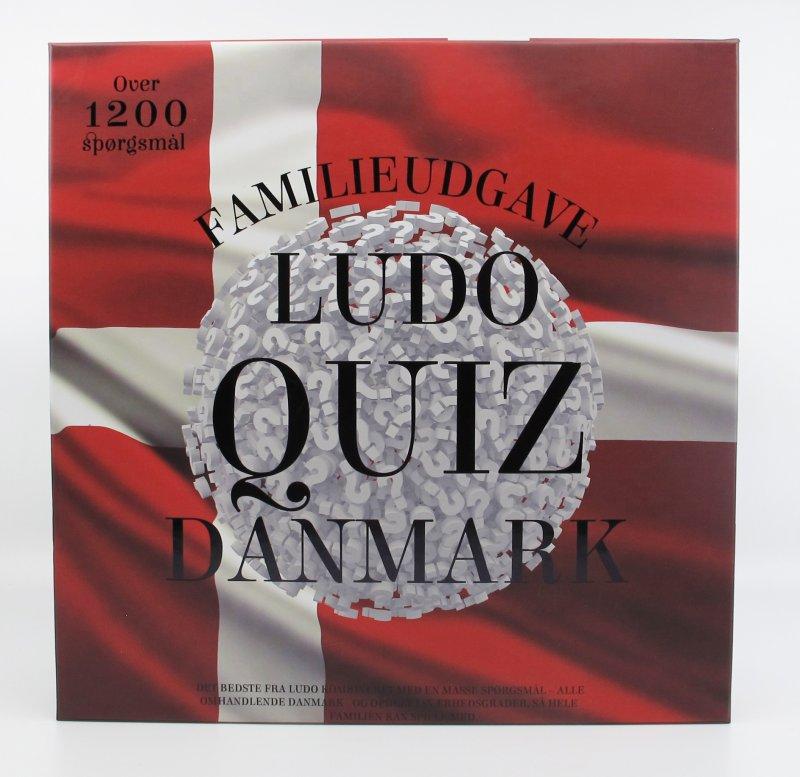 Image of Ludo Quiz - Danmark Familieudgave - 1200 Spørgsmål
