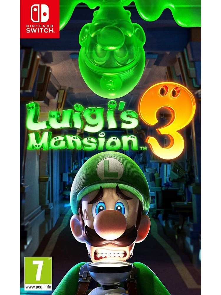 Image of   Luigi's Mansion 3 - Nintendo Switch
