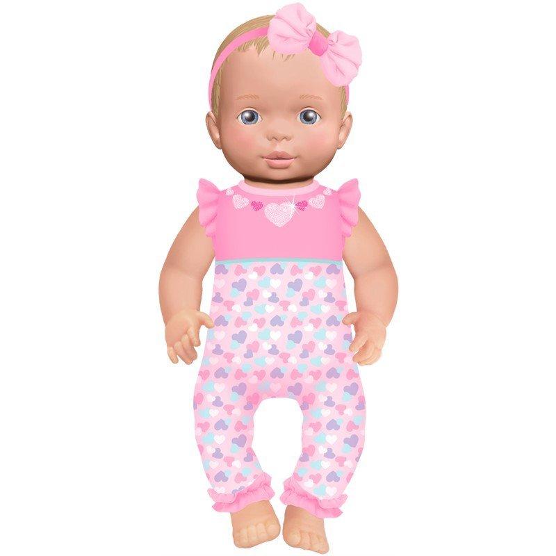 Image of   Luvabella Newborn - Nyfødt Baby Dukke - Blond