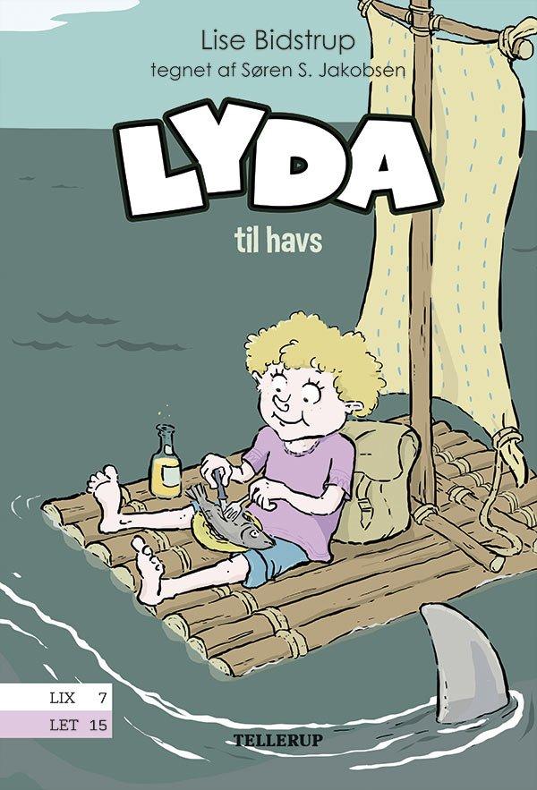 Image of   Lyda #1: Lyda Til Havs - Lise Bidstrup - Bog