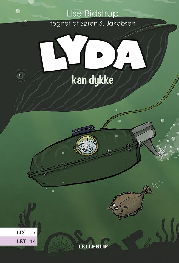 Image of   Lyda #4: Lyda Kan Dykke - Lise Bidstrup - Bog