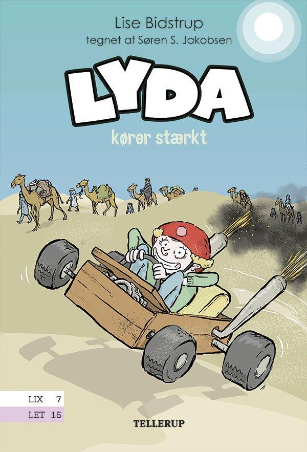 Image of   Lyda #5: Lyda Kører Stærkt - Lise Bidstrup - Bog